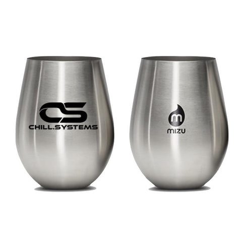 Chill Systems Stainless Steel Wine Cups (2 pack)