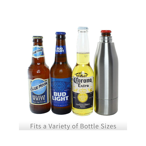 Icy Bev Bottle Cooler - Blue