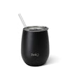 Swig 14oz Stemless Wine Cup - Matte Black