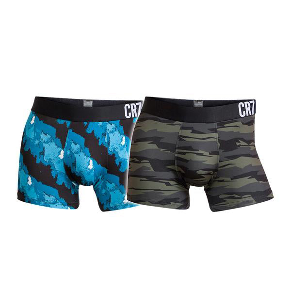 Fashion Trunks 2-Pack Mixed color Light Blue/ Fashion Army