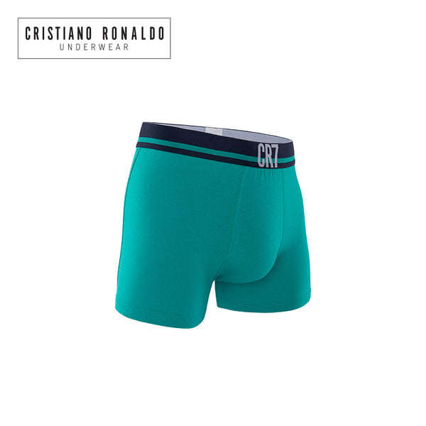 Fashion Trunks Cotton stretch in Green