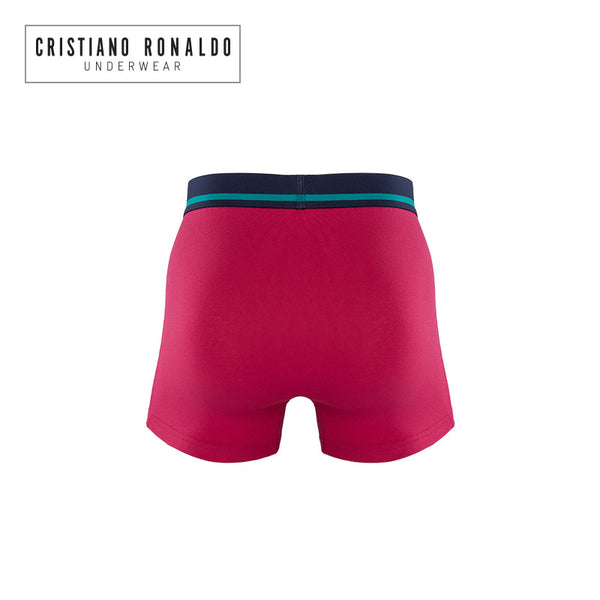 Fashion Trunks Cotton stretch in Red