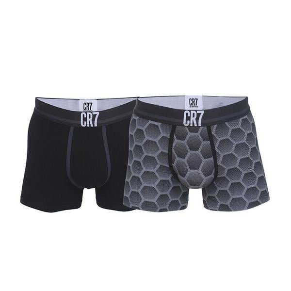 Fashion Trunks 2-pack Black and Grey