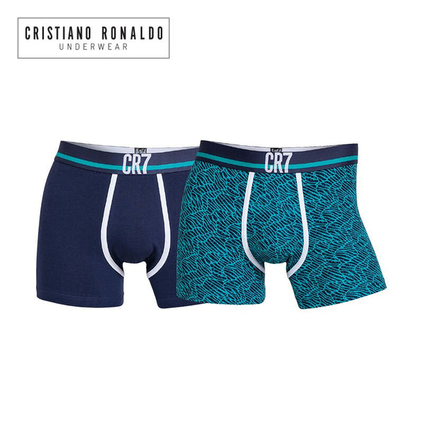 Fashion Trunks 2-pack Black and Green Emerald