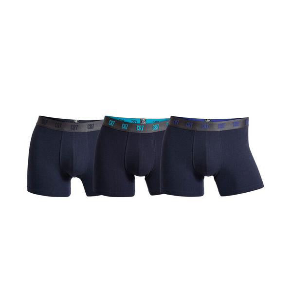 Basic Trunks 3-pack Navy