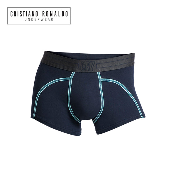 Fashion trunks Microfiber Navy Blue