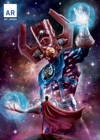 Galactus vs Superman