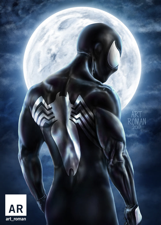 Spider-Man Symbiote Black Suit