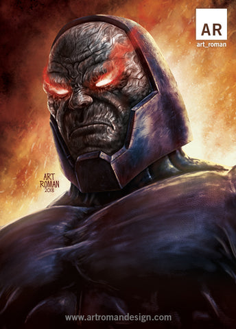 Darkseid Omega Beams