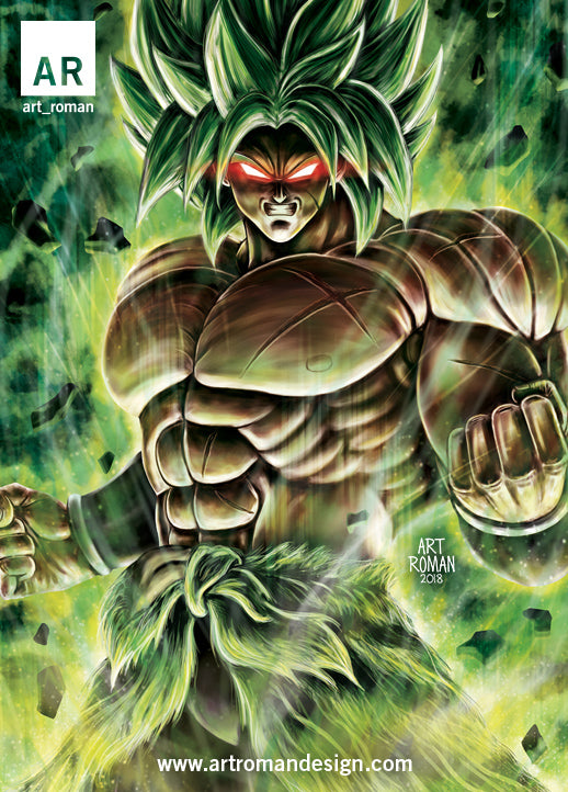 Broly Dragon Ball Super Movie