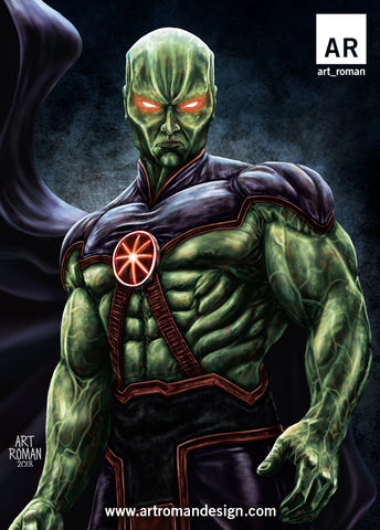 Martian Manhunter Justice League