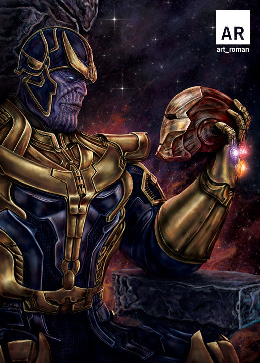 Thanos vs Iron Man 11x17