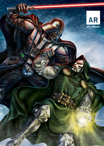 Darth Vader vs Doctor Doom