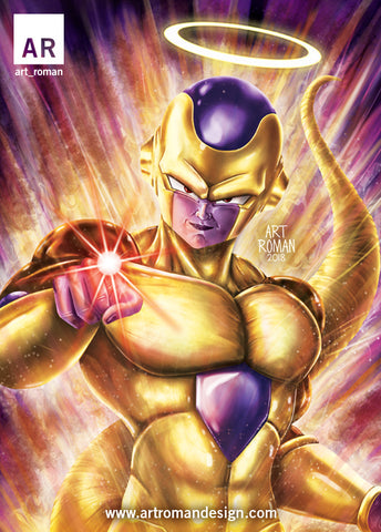 Golden Frieza Death Beam