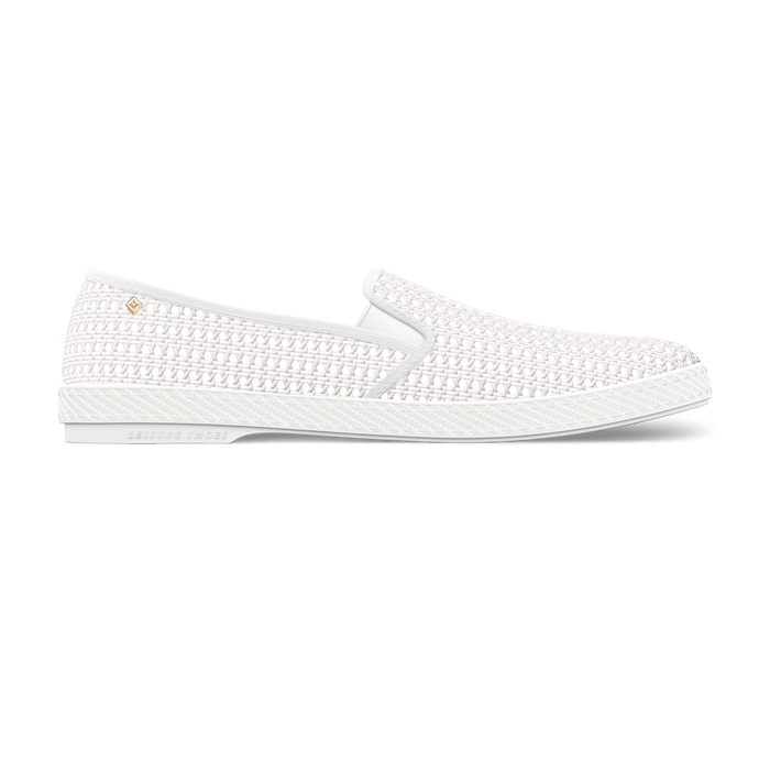 Nice Matin Blanc, Mocassin, Rivieras European Union, homme, femme, été, chaussures, chaussures, riviera, espadrille, espadrilles, leisure, shoes, summer, man, women, loafers, loafer