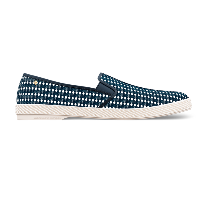 Nice Matin Marine, Mocassin, Rivieras European Union, homme, femme, été, chaussures, chaussures, riviera, espadrille, espadrilles, leisure, shoes, summer, man, women, loafers, loafer
