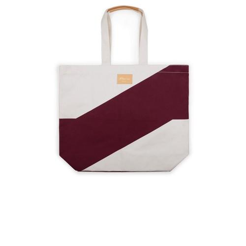 Beach Bag Bordeaux