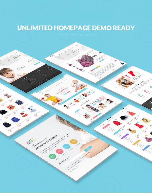 Baby Store - Clean, responsive Shopify themes - 3
