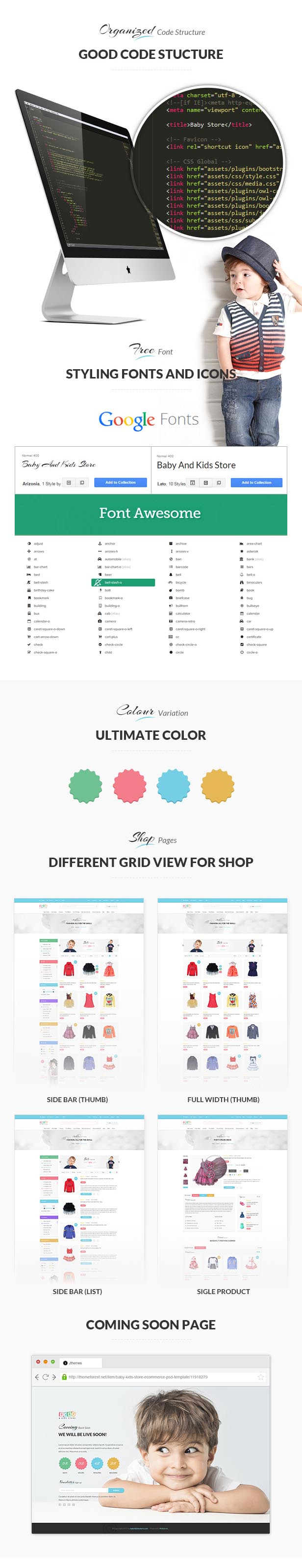 Baby Store - Clean, responsive Shopify themes - 4