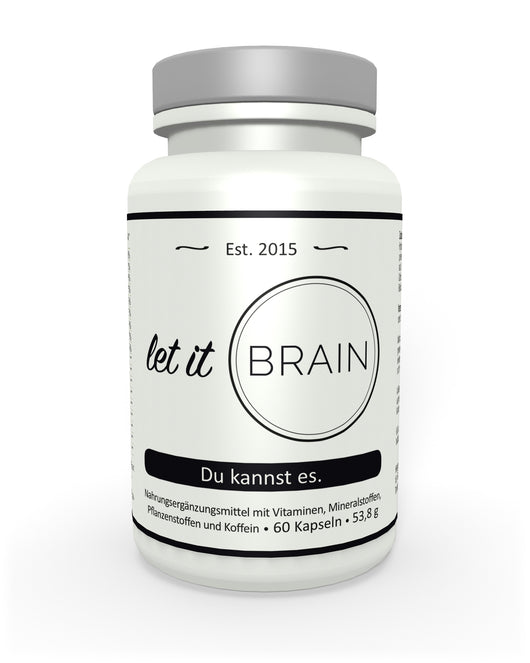Let it Brain - Der vegane Brain Booster!