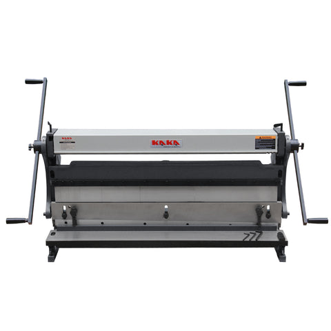 KAKA 3-IN-1/1320 ,52-In Sheet Metal Brake, 3-In-1 Shear Brake Roll Combinations