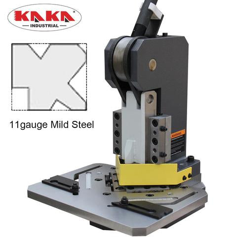 FREE SHIPPING!!!  Kaka industrial Sheet Metal Manual Corner Notcher HN-3/102