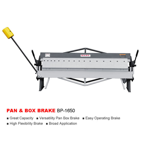 "50"" 16 Gauge Pan and Box Brake BP-1650"