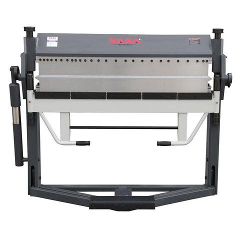 Kaka industrial PBB-5016/3SH Manual Finger Brake, 0 - 150 Degree Bending Angle, 16-Gauge Mild Steel Capacity