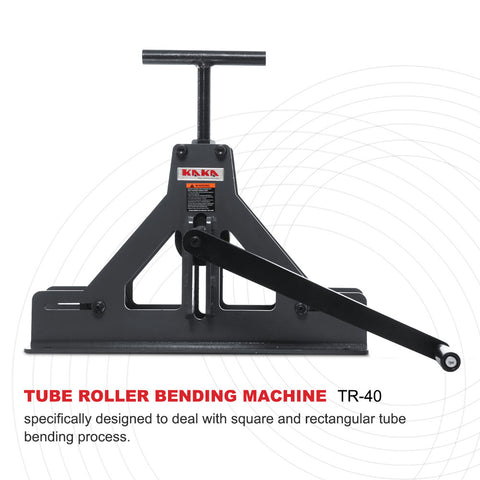 TR-40 Solid Construction Square and Rectangular Tube roll Bender