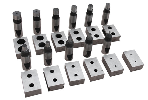 Imperial system round hole punching dies for PBS-9