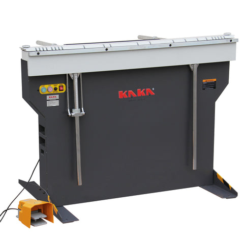KAKA EB-4816B Manual Magnetic Sheet Metal Box and Pan Brake, 1-Phase 220V.