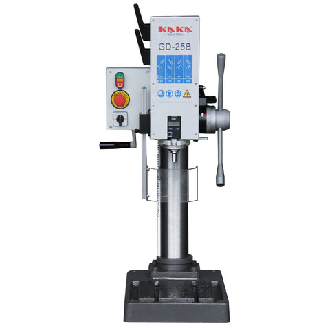 KAKA Industrial GD-25B Heavy Duty Gear Head Vertical Bench Drilling.220V-60HZ-3PH.