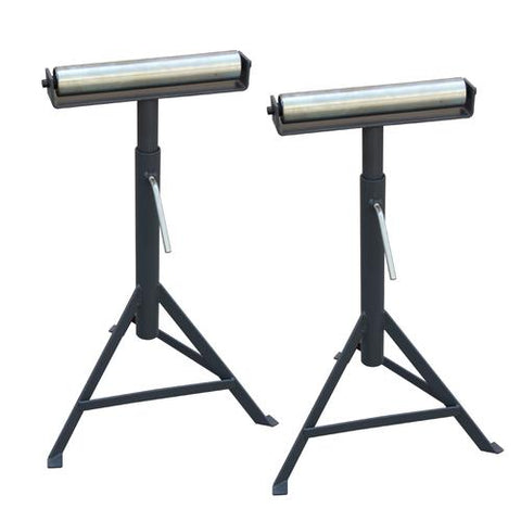 2 PCS RB-1000 Super Duty Adjustable 23-Inch to 38-Inch Tall Pedestal Roller Stand