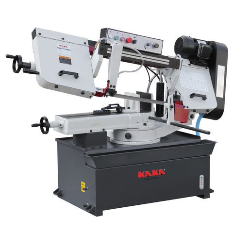 "KAKA Industrial  BS-1018R 10"" Metal Cutting Band Saw   . 220V-60HZ-1PH ."