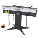 "kaka EB-5216 Manual Magnetic Sheet Metal Box and Pan Brake, 52"" Length ,1-Phase 220V, 16-Gauge Mild Steel Capacity"