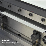 FREE SHIPPING!!! KAKA INDUSTRIAL 3-In-1/760 30-Inch Sheet Metal Brake, Shear and Roll