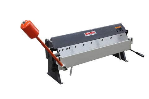 "KAKA INDUSTRIAL 36"" 16 Gauge Sheet Metal Pan and Box Brake W1.5x915z/W-3616Z with Balance Weight Hammer"