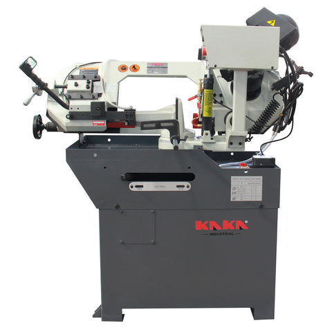 KAKA Industrial BS-108G Metal Cutting Band Saw, Mini Band Saw,220V-60HZ-1PH