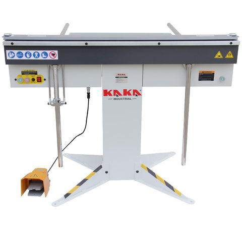 Kaka industrial EB-4816 Manual Magnetic Sheet Metal Box and Pan Brake, 1-Phase 220V.