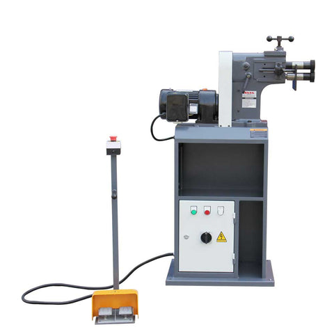 Kaka ETB-12 Electric Bead Bending Machine, Sheet Metal Beading Machine.230V-60HZ-1PH .