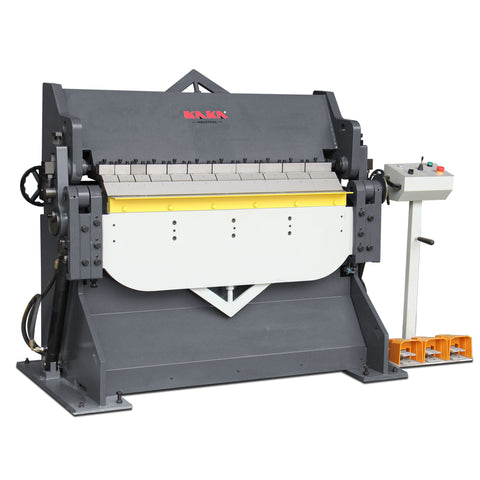Kaka Industrial Hydraulic Heavy Duty Sheet Metal Brake,230V, 10-Gauge Mild Steel Capacity