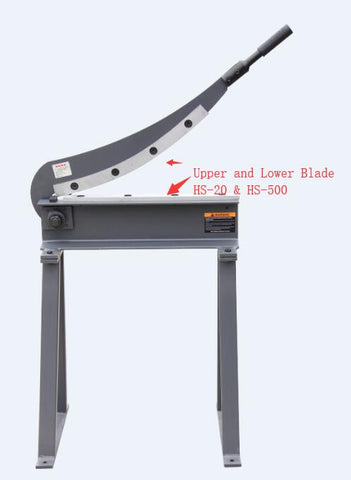Upper and Lower Blade for Guillotine Shear