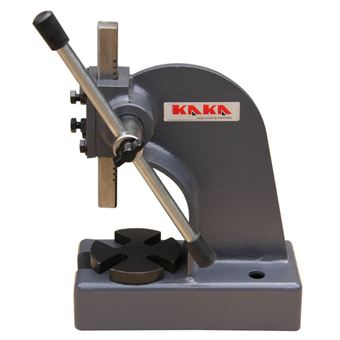 "Kaka Arbor Press, 1/2"" Ton Cast Iron, 3"" Height Heavy Duty Arbor Press"