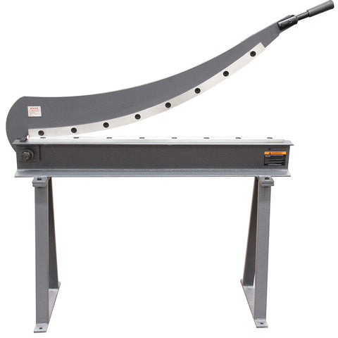 FREE SHIPPING!!! Guillotine Shear Hs-1000 Gauge Sheet Metal Fabrication Plate Cutting Cutter