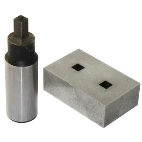 Square Hole Punching Dies for Manual Ironworker PBS-9