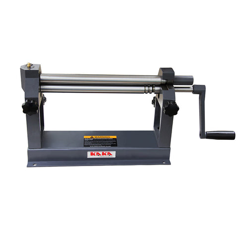 FREE SHIPPING!!! KAKA Industrial W01-0.8x305 12-Inch Slip Roll Machine, 22 Gauge Capacity, Solid Construction Slip Roll Machine