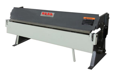 kaka industrial 36inch Width 1.0mm Capacity Manual Sheet Metal Brak W1.0x915