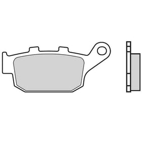 Brembo Remblokken ACHTER Carbon Ceramic|Brembo Brake Pads REAR Carbon Ceramic