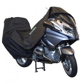 DS Covers Alfa Motorhoes Maat XXL + Topkoffer|DS Bike Cover Size XXL + Topcase