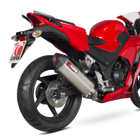 Scorpion Uitlaat Honda CBR 300 R 2014-2016|Scorpion Exhaust Honda CBR 300 R 2014-2016